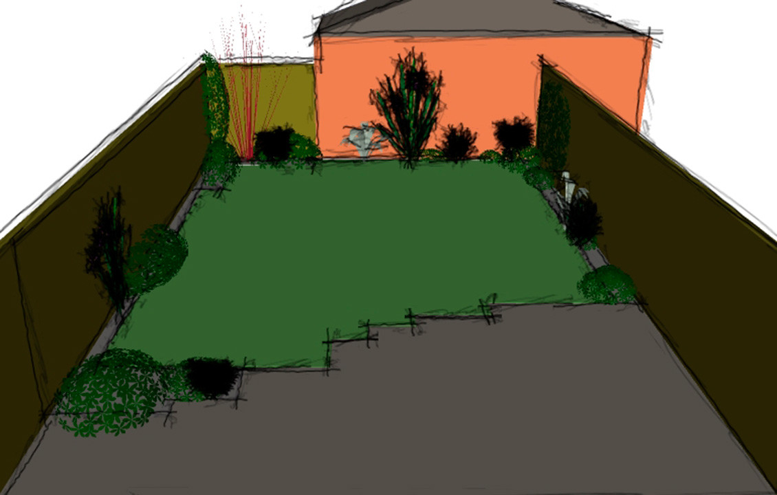 The Barrington Garden Sketch