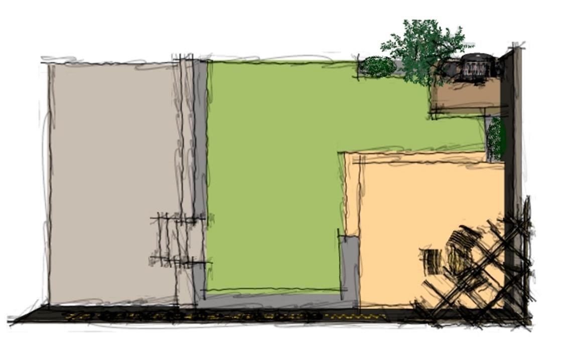 West Field Garden Sketch