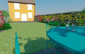 The Haddon Garden Render 2